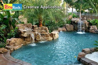 Rock Waterfall Gallery