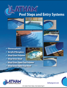 Latham Pool Steps and Entry Systems
